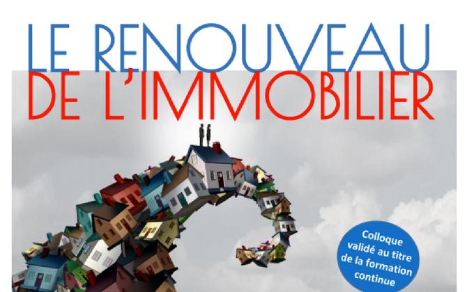 GMH participe à un colloque sur le renouveau de l'immobilier  à l'université d'Orléans